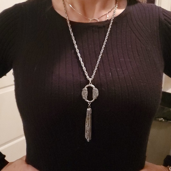 Vintage silver necklace Sarah Coventry